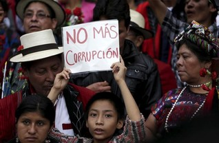 Thousands protest graft in Guatemala, raising pressure on president
