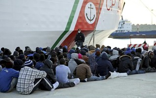 Italian navy takes back fishing boat seized near Libya