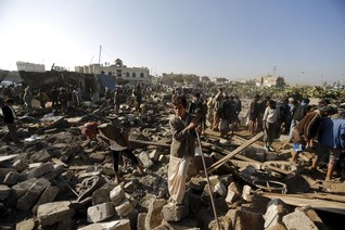UN says attack on Yemen camp broke law, calls for accountability