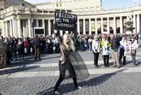 Vatican arrests bare-breasted Femen activist in St. Peter's Square