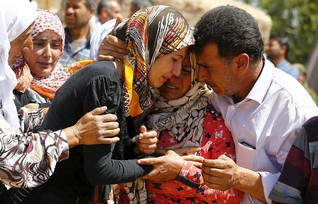 Islamic State kills at least 145 civilians in Syria's Kobani