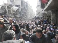 Aid officials call for swift cross-border access in Syria