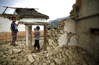 Children miss school, fear abuse after Nepal quake - aid groups