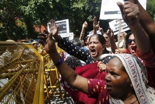 India demands justice as Saudi employer accused of chopping off maid's arm