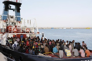 International effort rescues over 5,000 Mediterranean migrants