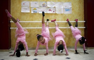 Pirouettes and plenty of pink: Gaza's only ballet school a haven of calm for traumatised girls