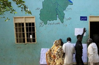 "Two candidates drop out of ""unfair"" Sudanese election"