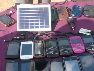 Zimbabwe's 'solar pirates' create own jobs with laptop, solar panel