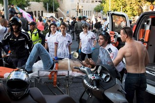 Religious assailant attacks Jerusalem Gay Pride parade, wounding six