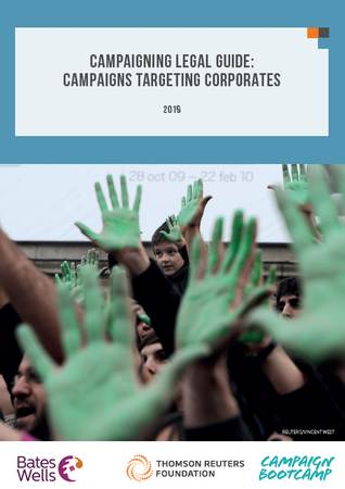 Campaigning Guide: Campaigns Targeting Corporates