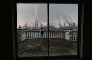 Data app pushes Chinese factories to cut pollution