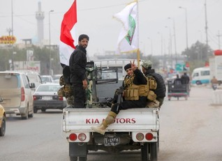 Coalition, Iraqi planes target IS militants in Tikrit presidential compound