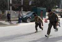 Taliban suicide attack on Afghan police station kills 11