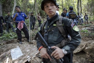 Turmoil in Thailand delayed crackdown on trafficking gangs - police