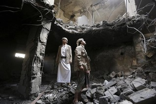 Ex-Yemen president's party says accepts peace terms