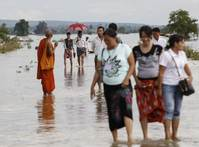 Aid rushed to Myanmar flood victims, as more heavy rains forecast