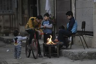 Brahimi to meet Syria sides separately, demands peace commit