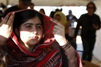 Taliban schoolgirl target Malala backs British FGM campaign