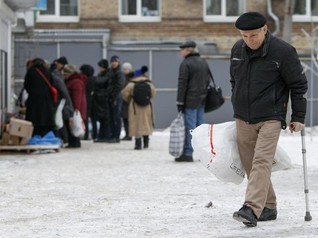 "Ukraine faces ""hidden crisis"" as displacement soars"