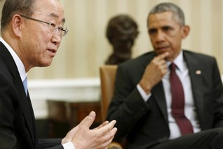 U.N.'s Ban: Obama's climate plan shows U.S. can change world