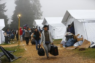 European aid budgets being diverted to refugees at home-aid group