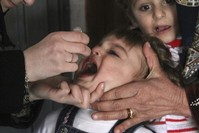 Fighting halts polio vaccination in northern Syria