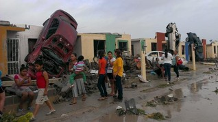 Tornado tears through Mexican city on Texas border, killing 13