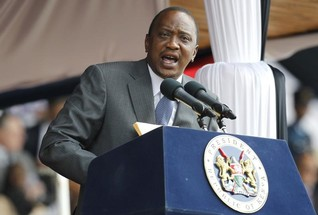 Kenya's president promises to fight graft, critics doubtful