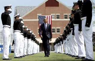 Obama tells Coast Guard grads climate change threatens U.S.